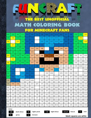 Details zu Funcraft - The best unofficial Math Coloring Book for Minecraft  Fans (Buch)