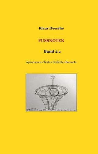 Fußnoten Band 2.2