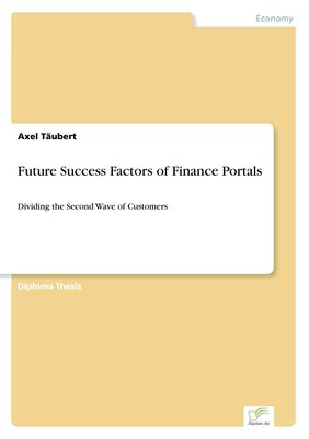 Future Success Factors of Finance Portals