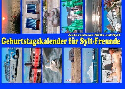 Geburtstagskalender für Sylt-Freunde