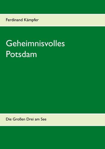 Geheimnisvolles Potsdam