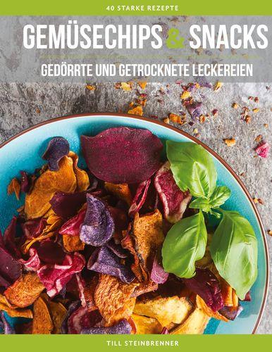 Gemüsechips und Snacks