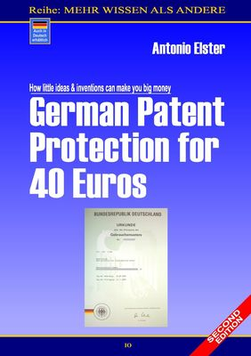 German Patent Protection for 40 Euros