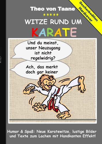 Geschenkausgabe Hardcover Humor Spaß Witze Rund Um Karate
