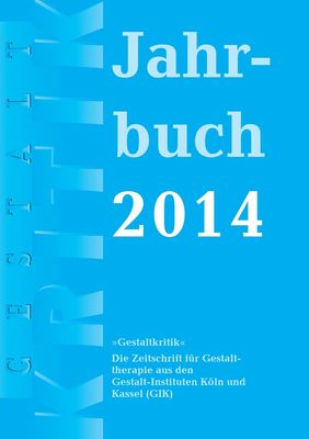 Gestaltkritik Jahrbuch 2014