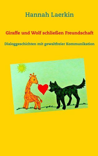 Giraffe und Wolf schließen Freundschaft