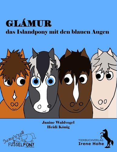 Glámur, das Islandpony mit den blauen Augen