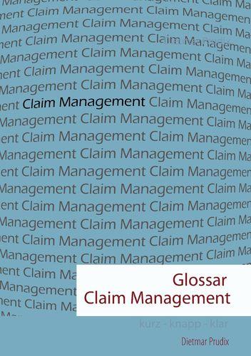 Glossar Claim Management