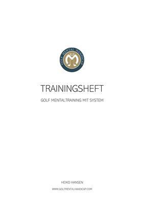 Golf Mental Handicap Trainingsheft