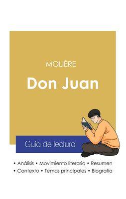 Guía de lectura Don Juan de Molière (análisis literario de referencia y resumen completo)