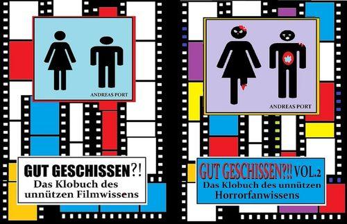 Gut Geschissen - Vol. 1 & 2 - Das Klobuch des unnützen Film- und Horrorfanwissens
