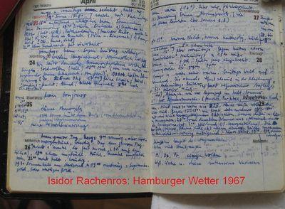 Hamburger Wetter 1967