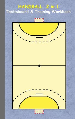 Handball 2 in 1 Tacticboard and Training Workbook