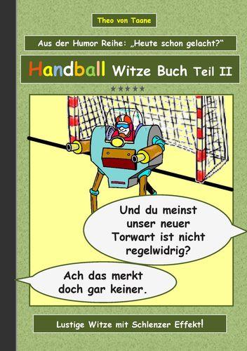 Handball Witze Buch - Teil II