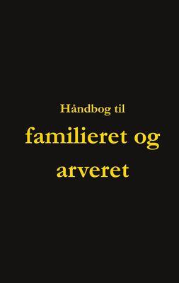 Håndbog til familieret og arveret
