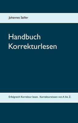 Handbuch Korrekturlesen