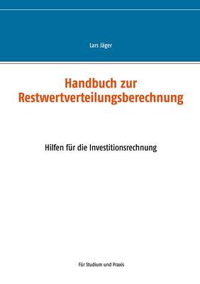Handbuch zur Restwertverteilungsberechnung