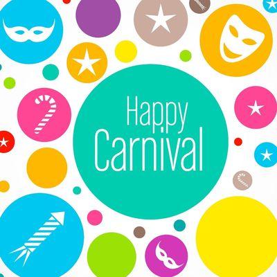 Happy Karneval Freundebuch