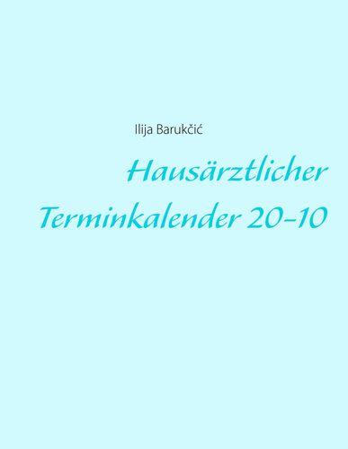 Hausärztlicher Terminkalender 20-10