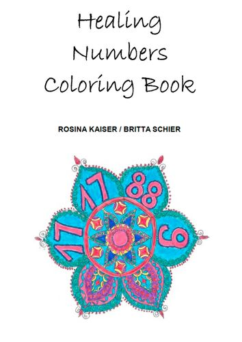 Healing Numbers Coloring Book