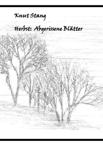 Herbst: Abgerissene Blätter