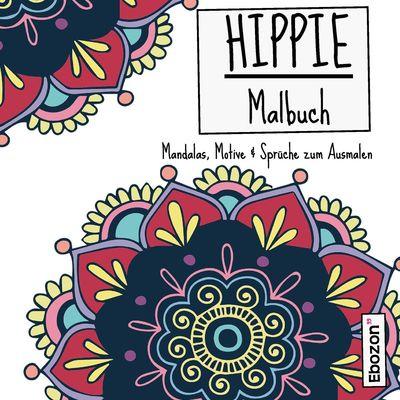 Hippie Malbuch