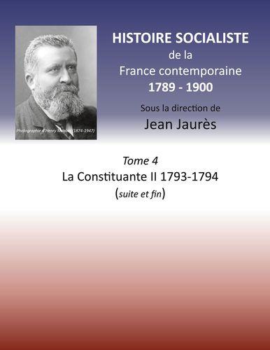 Histoire socialiste de la France contemporaine