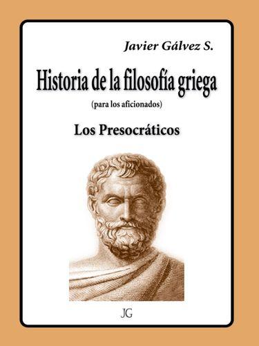 HISTORIA DE LA FILOSOFIA GRIEGA
