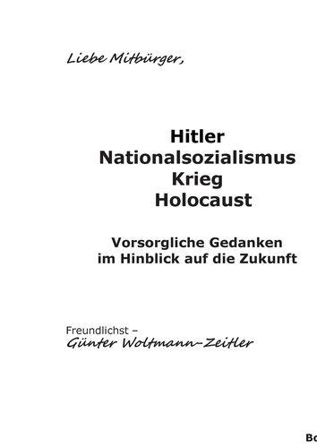 Hitler Nationalsozialismus Krieg Holocaust