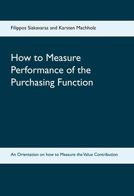 How to Measure Performance of the Purchasing Function