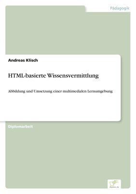 HTML-basierte Wissensvermittlung