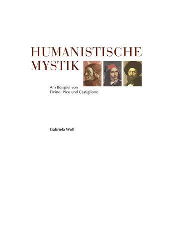 Humanistische Mystik