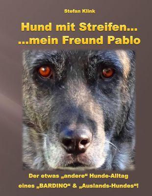 Hund mit Streifen ...