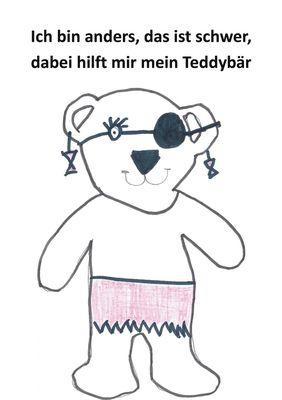 Ich bin anders, das ist schwer, dabei hilft mir mein Teddybär