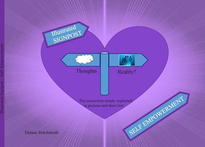 Illustrated Signpost - Self Empowerment