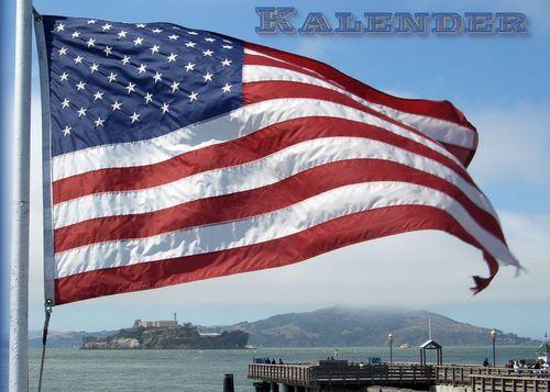 Immerwährender Geburtstagskalender mit Impressionen der USA