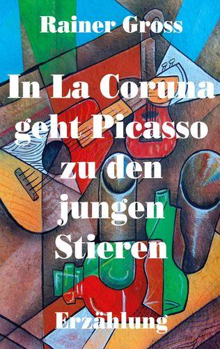 In La Coruna geht Picasso zu den jungen Stieren