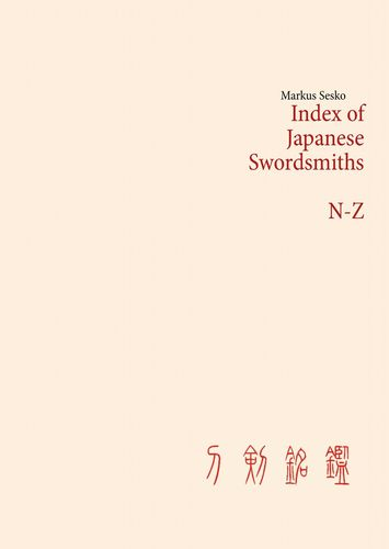 Index of Japanese Swordsmiths N-Z