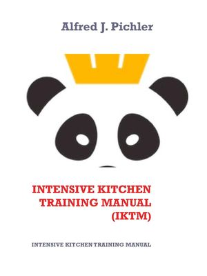 Intensive Kitchen   Training Manual   (IKTM)