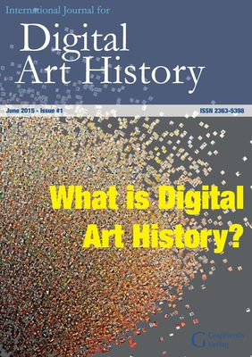 International Journal for Digital Art History: Issue 1, 2015