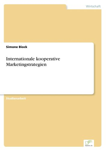 Internationale kooperative Marketingstrategien