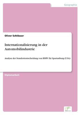 Internationalisierung in der Automobilindustrie