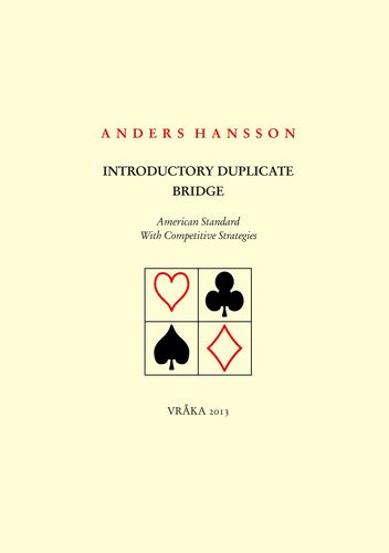 Introductory Duplicate Bridge