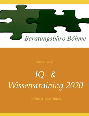 IQ- & Wissenstraining 2020