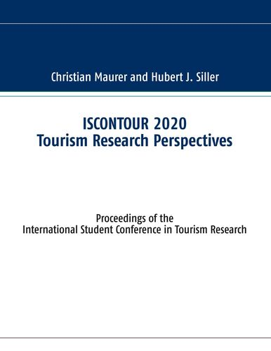 ISCONTOUR 2020 Tourism Research Perspectives