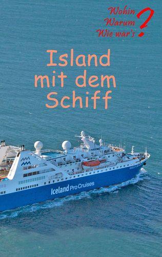 Island mit dem Schiff
