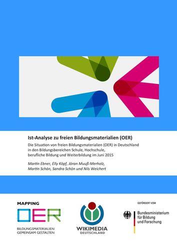 Ist-Analyse zu freien Bildungsmaterialien (OER)
