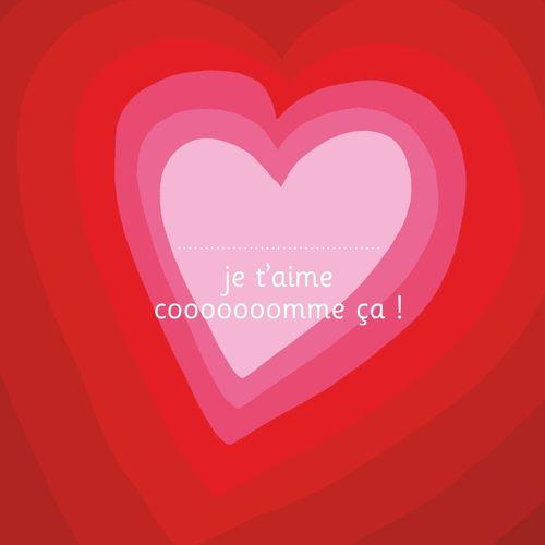 Je t'aime cooooooomme ça ! - illustré par Adrienne Barman