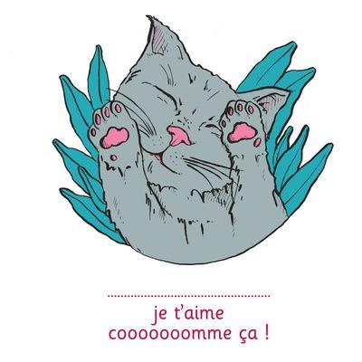 Je t'aime cooooooomme ça ! - illustré par Anne Bory