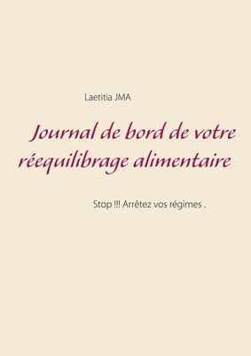 Journal de bord de votre réequilibrage alimentaire